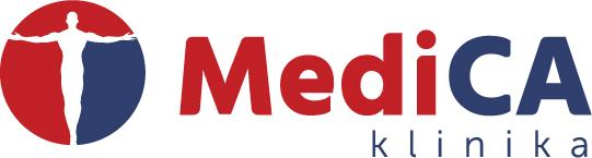 MediCA klinika logotipas - internetas - spalvotas